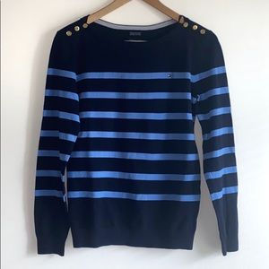 NWT Tommy Hilfiger Pima Cotton Striped Sweater